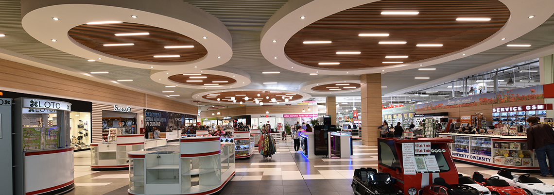 Iris Mall Corridor area